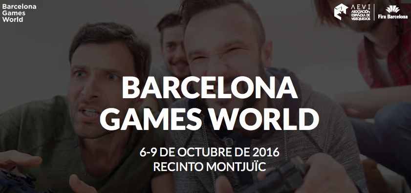 congreso videojuegos, barcelona games world, madrid gaming experience, madrid se queda sin congreso videojuegos, octubre 2016