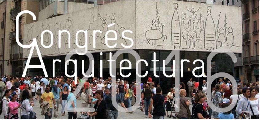 Resultado de imagen de congreso arquitectura barcelona