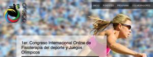 olimpiadas congreso fisioterapeuta online evento