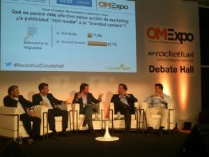 OMExpo-2014 debate hall con sistema de votacion