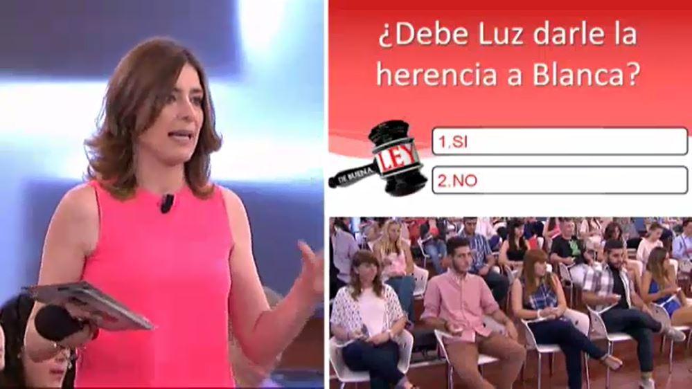 De Buena Ley - Caso del 17-09-2014 Dame mi herencia - Sandra Barneda 2