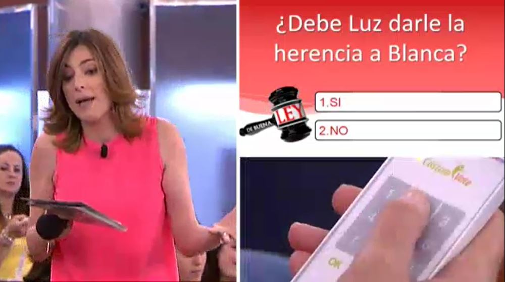 De Buena Ley - Caso del 17-09-2014 Dame mi herencia - Sandra Barneda 3