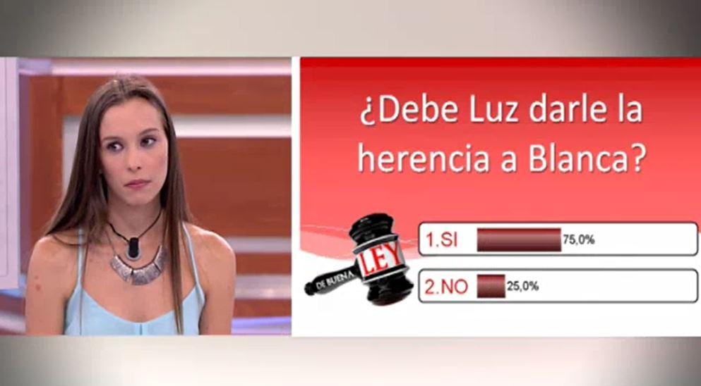 De Buena Ley - Caso del 17-09-2014 Dame mi herencia - Sandra Barneda 4