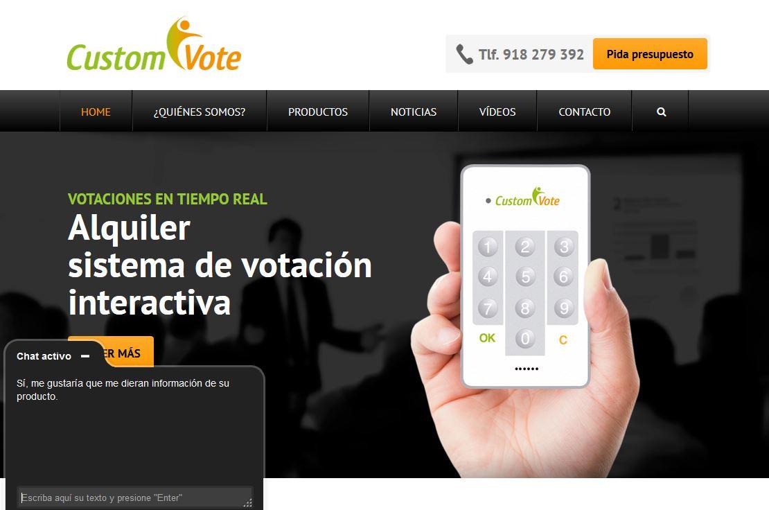 Chat de atención al cliente en la web un método para ganar clientes