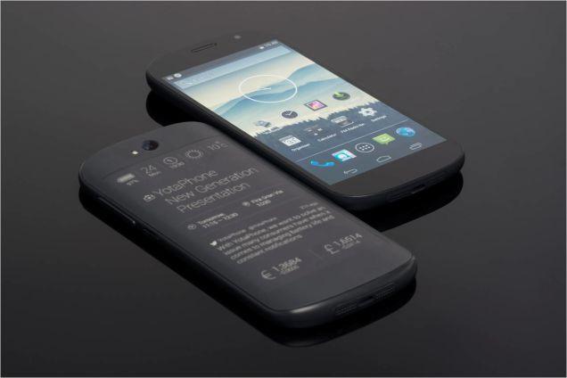 """Teléfono YotaPhone, una """"hidra"""" de dos caras con ganas de merendarse la escena tecnológica"""