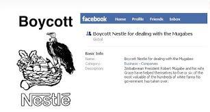 Nestlé, redes sociales, centro suiza, crisis