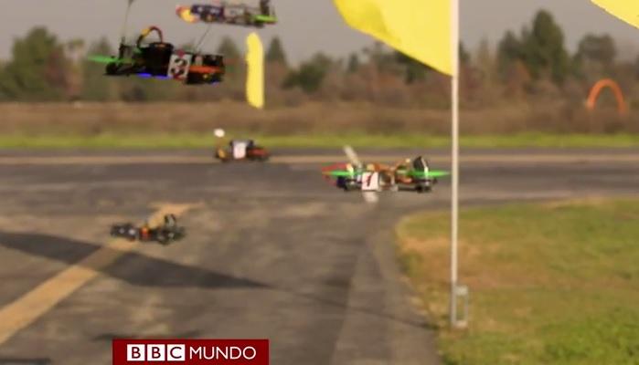carreras drones sistema votación