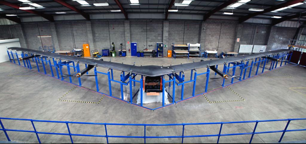 aquila dron facebook internet todo el mundo