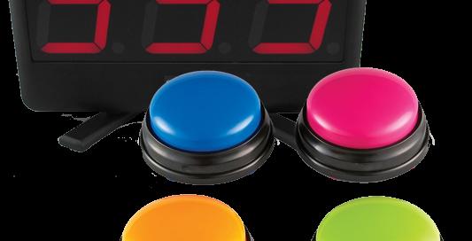 pulsadores, electrónicos, concursos, eventos,