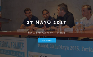 congreso personal trainer madrid