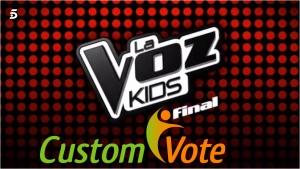 la voz kids vote